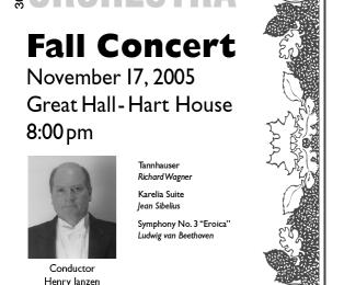 Fall Concert 05/06